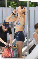 AIDA YESPICA in Bikinit Top at a Beach in Miami 06/26/2016