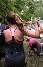 AIMEE TEEGARDEN Competing in Spartan Super Race in Richmond 06/11/2016