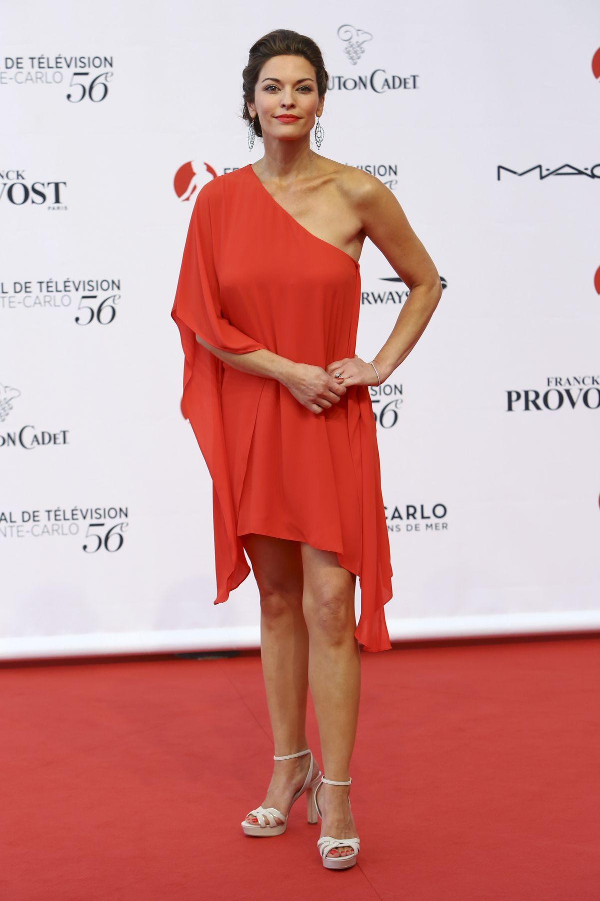 ALANA DE LA GARZA at 56th Monte-Carlo Television Festival in Monaco 06/12/2016