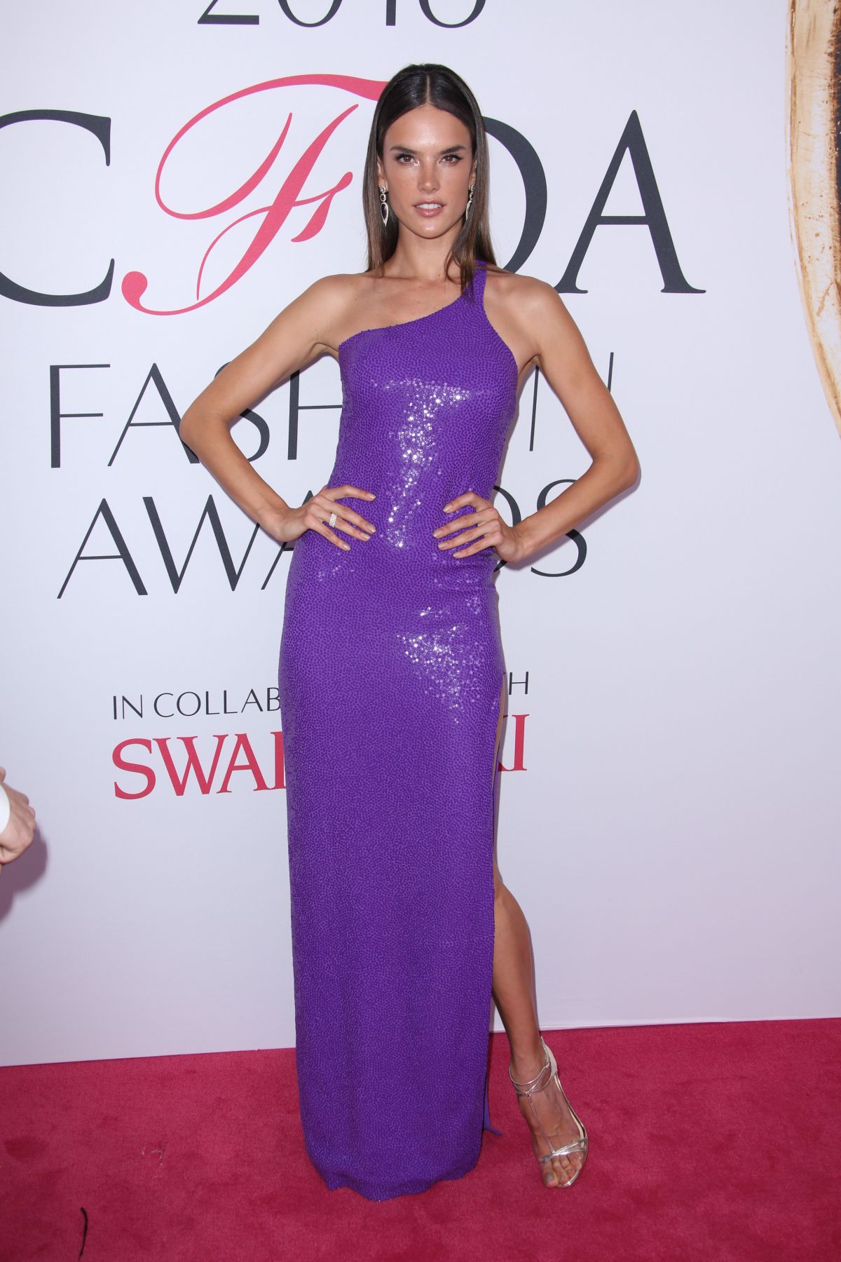 ALESSANDRA AMBROSIO at CFDA Fashion Awards in New York 06/06/2016