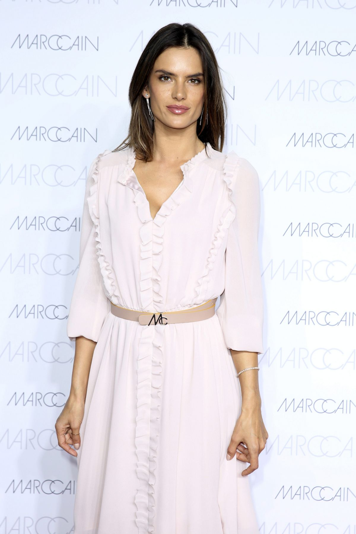 ALESSANDRA AMBROSIO at Presentation of Spring/Summer 2017 Collection of Mac Cain 06/28/2016
