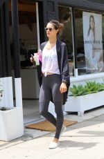 ALESSANDRA AMBROSIO Out and About in Brentwood 06/05/2016