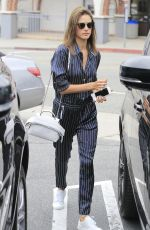 ALESSANDRA AMBROSIO Out and About in Brentwood 06/12/2016