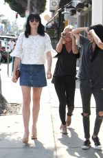 ALI LOHAN Out and About in West Hollywood 05/28/2016