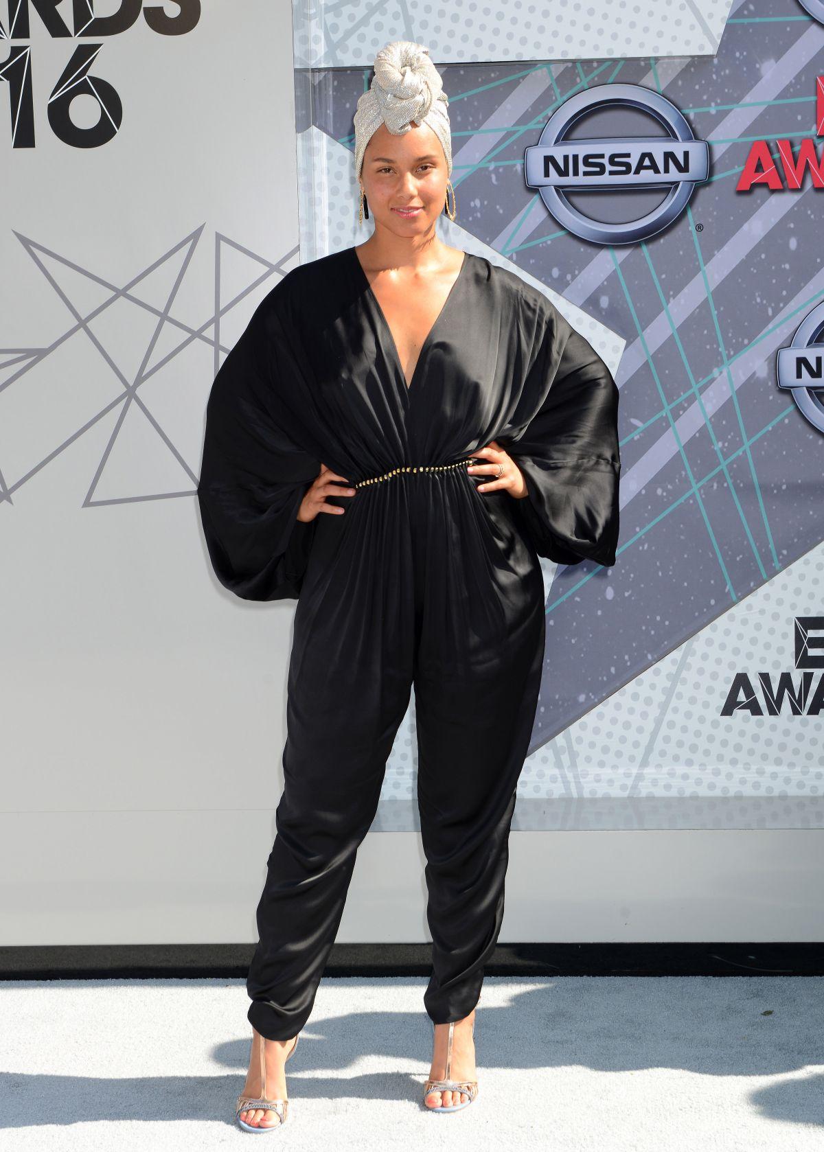 ALICIA KEYS at 2016 BET Awards in Los Angeles 06/26/2016