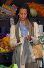 ALICIA VIKANDER Shopping in Sydney 06/06/2016