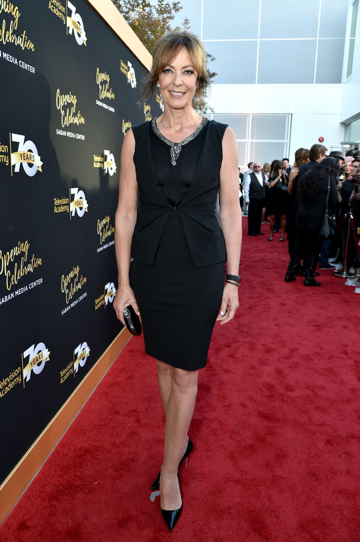 ALLISON JANNEY at Television Academy 70th Anniversary Celebration in Los Angeles 06/02/2016
