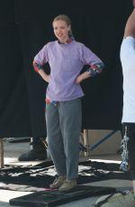 AMANDA SEYFRIED on the Set of