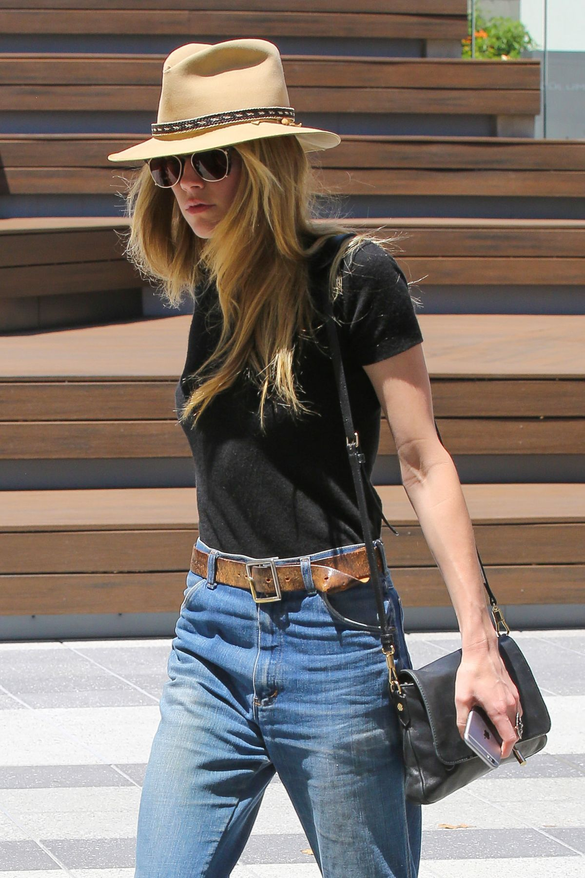 AMBER HEARD leaves an Office in West Hollywood 06/16/2016