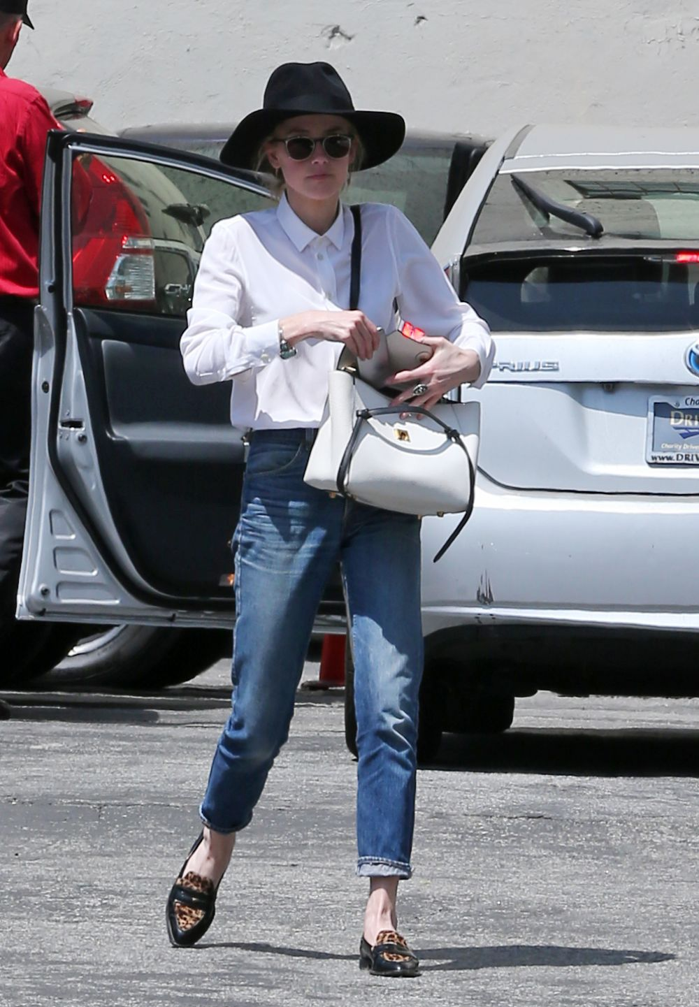 AMBER HEARD Out in Los Angeles 06/07/2016
