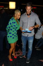 AMBER ROSE on the Set of \Amber Rose Show