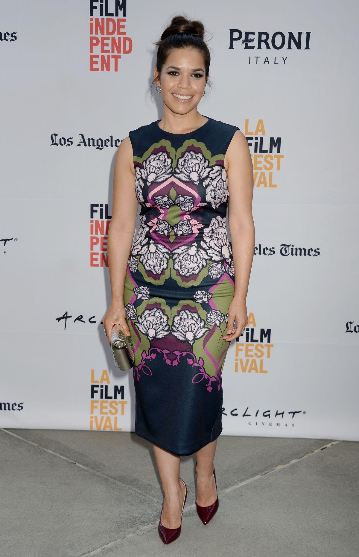 AMERICA FERRERA at 'Paint It Black' Premiere at 2016 LA Film Festival 06/03/2016