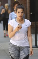 AMERICA FERRERA Out and About in New York 06/07/2016