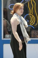 AMY ADAMS Out and About in Studio City 06/05/2016