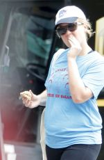AMY SCHUMER Out and About in New York 06/23/2016