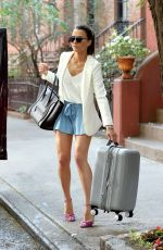 ANDI DORFMAN in Short Skirt Out in New York 06/29/2016
