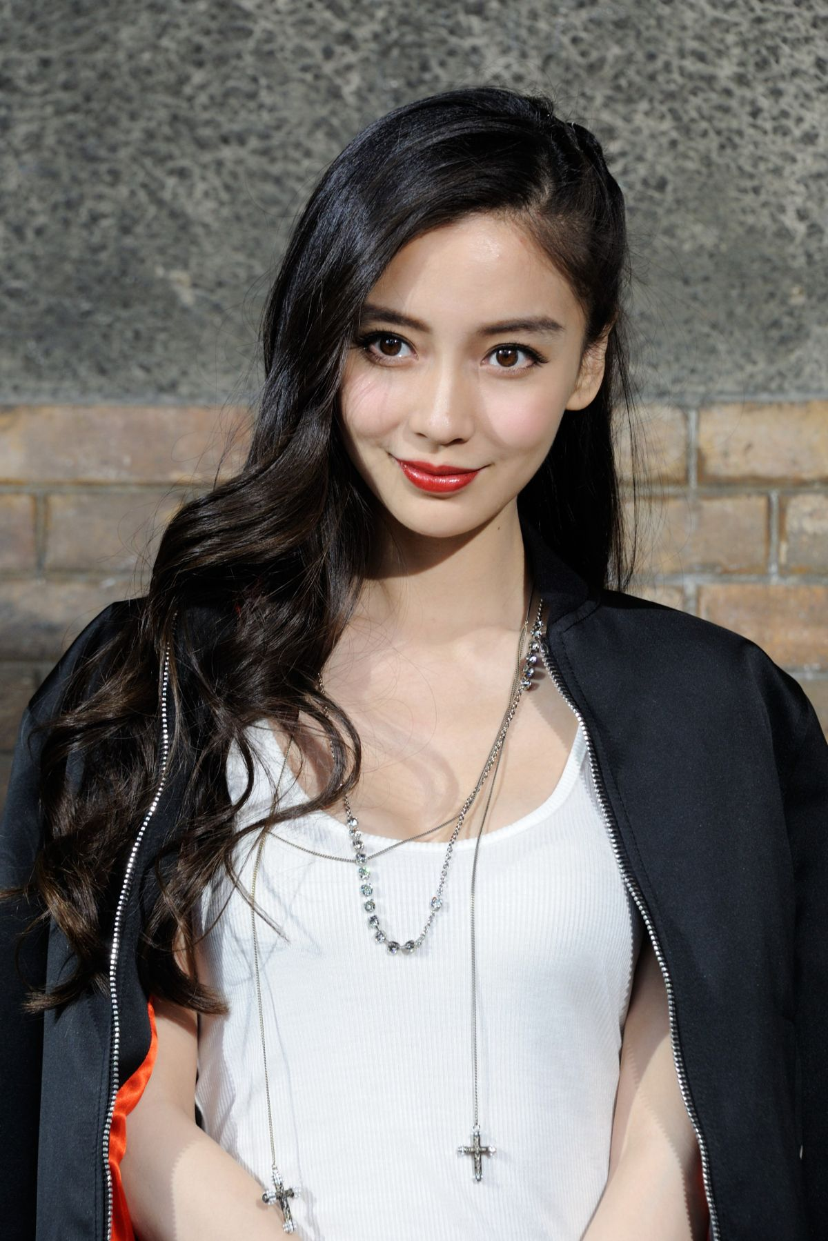 ANGELABABY at Gvenchy Fashion Show in Paris 06/24/2016