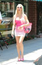 ANGELIQUE FRENCHY MORGAN Out in Beverly Hills 06/18/2016
