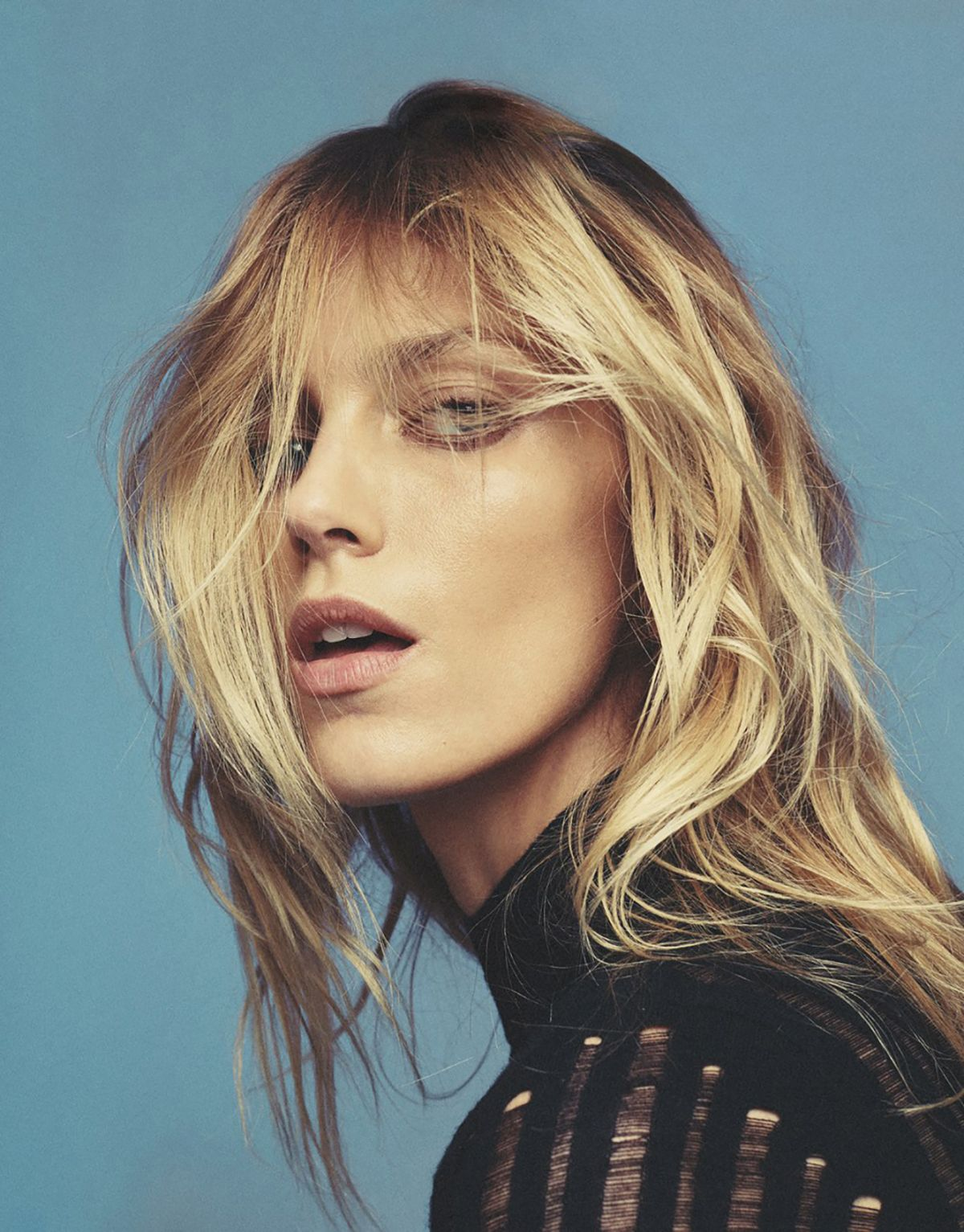 ANJA RUBIK by Van Mossevelde for Grazia Magazine