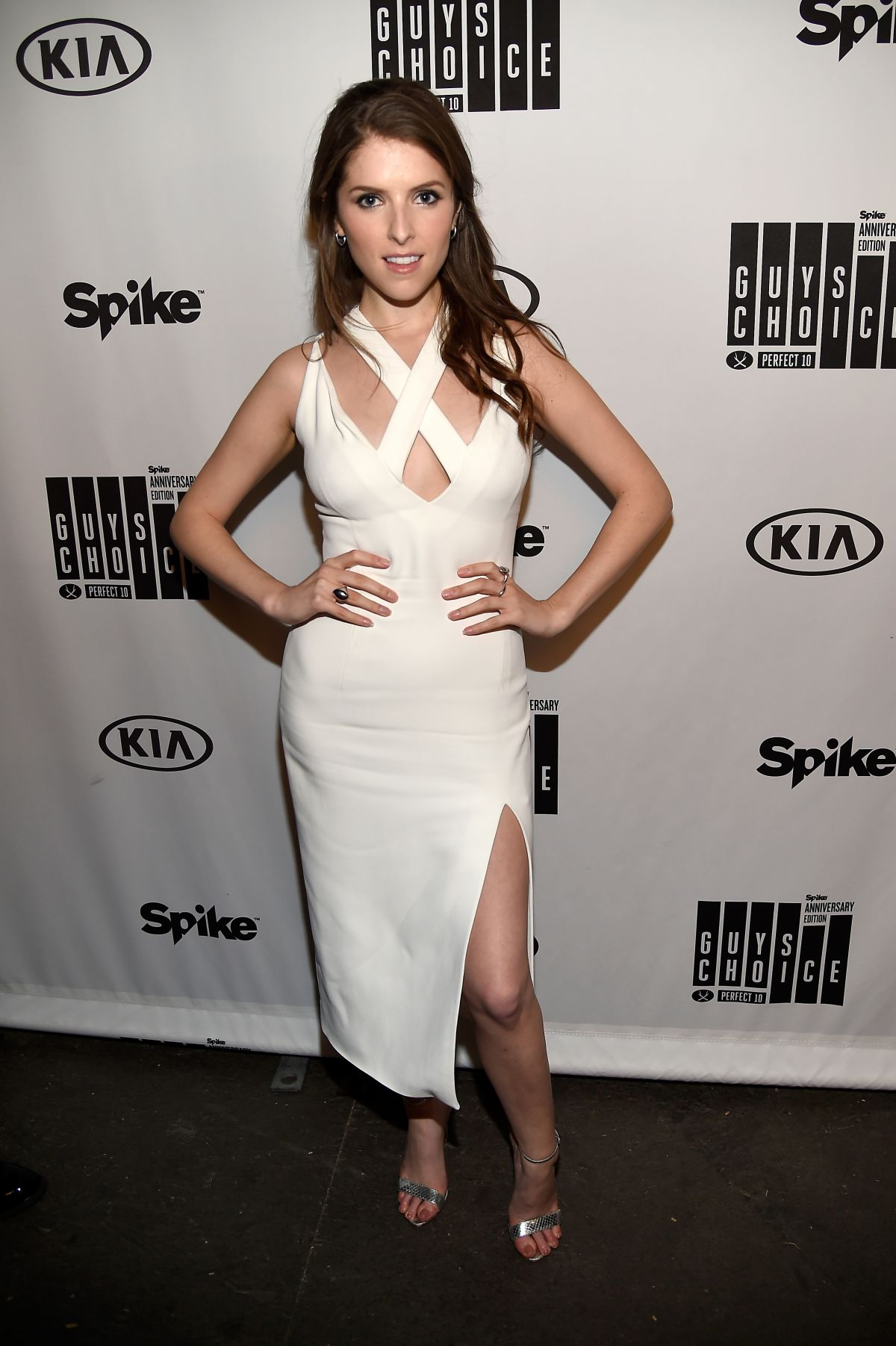 ANNA KENDRICK at Spike TV's Guys Choice 2016 Awards in ... Anna Kendrick