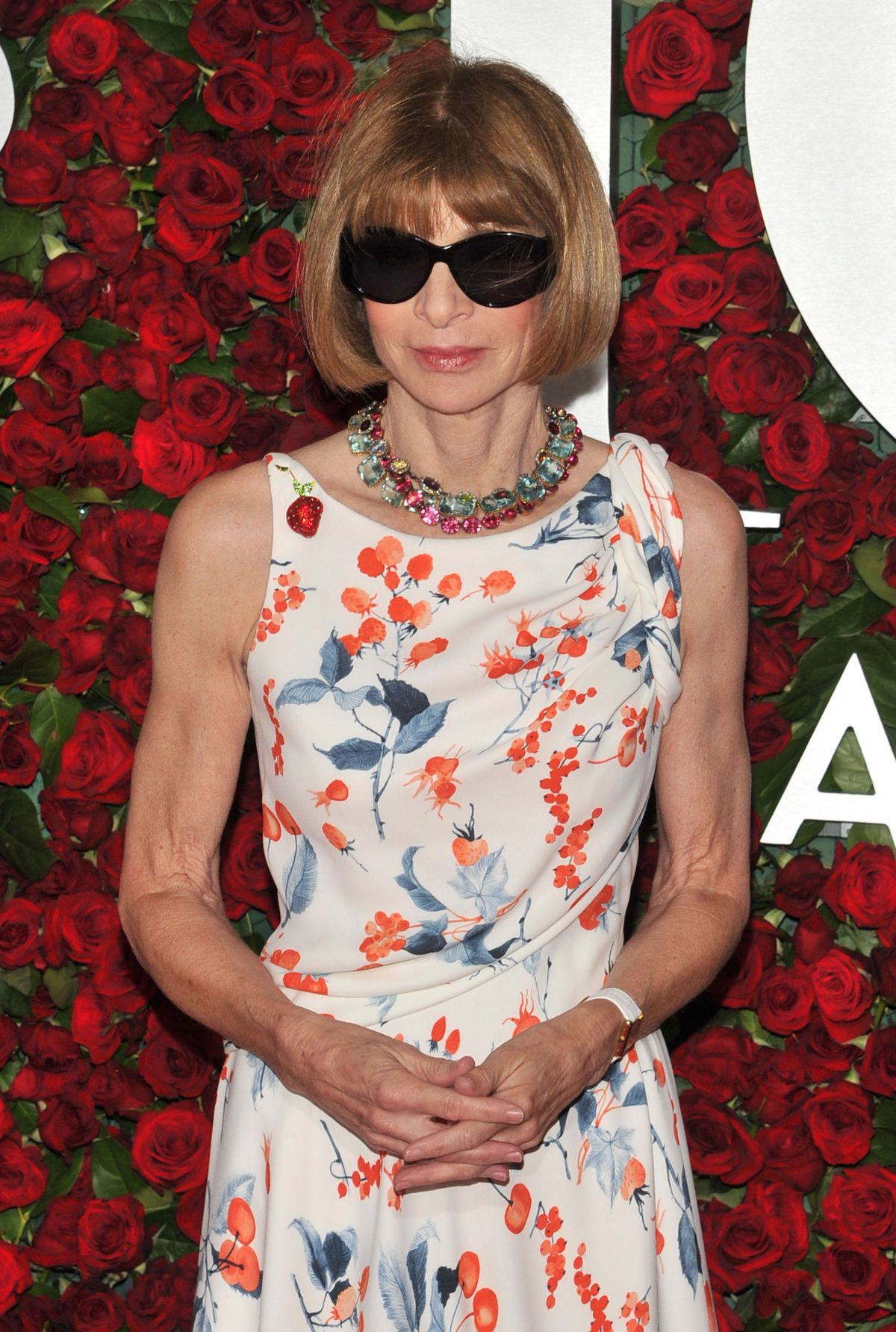 ANNA WINTOUR at 70th Annual Tony Awards in New York 06/12/2016