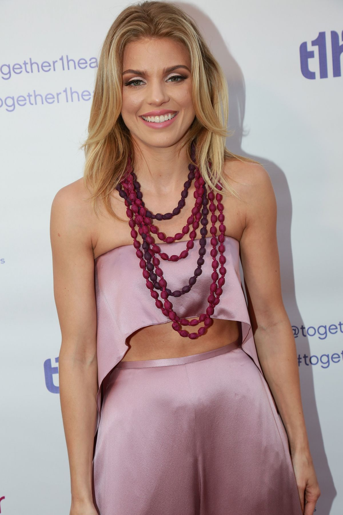 ANNALYNNE MCCORD at together1heart Launch in Beverly Hills 06/25/2016