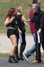 ARIEL WINTER on the Set of
