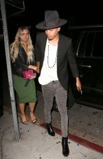 ASHLEE SIMPSON at Nice Guy in Los Angeles 06/12/2016