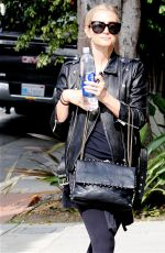 ASHLEE SIMPSON Heading to a Gym in Los Angeles 06/08/2016
