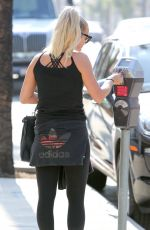 ASHLEE SIMPSON in Tights Out in Los Angeles 06/29/2016
