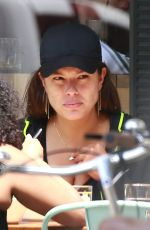 ASHLEY GRAHAM Out for Lunch in New York 06/17/2016