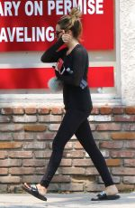 ASHLEY TISDALE Out and About in Studio City 06/17/2016