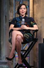 AUBREY PLAZA at AOL Build Speakers Series in New York 06/20/2016