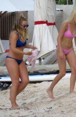 AVA SAMBORA in Bikini at a Beach in St. Barts 6/26/16