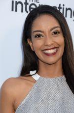 AZIE TESFAI at Sony Pictures Television #socialsoiree in Los Angeles 06/28/2016