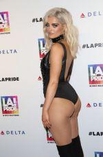BEBE REXHA at LA Pride Music Festival in Los Angeles 06/11/2016