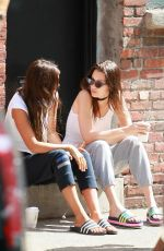 BELLA HADID and Firends Out in New York 06/13/2016