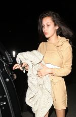 BELLA HADID Night Out in West Hollywood 06/17/2016