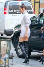 BELLA HADID Out in New York 06/29/2016