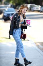 BELLA THORNE in Bikini Top Out in Beverly Hills 06/26/2016