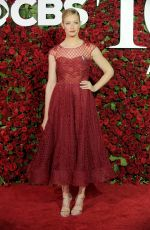 BETH BEHRS at 70th Annual Tony Awards in New York 06/12/2016