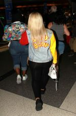 BLAC CHYNA at Los Angeles International Airport 06/21/2016