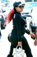 BLAC CHYNA Out and About in Los Angeles 06/18/2016