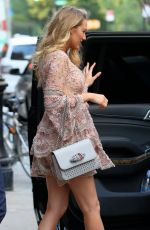 BLAKE LIVELY Leaves Her Hotel in New York 06/20/2016