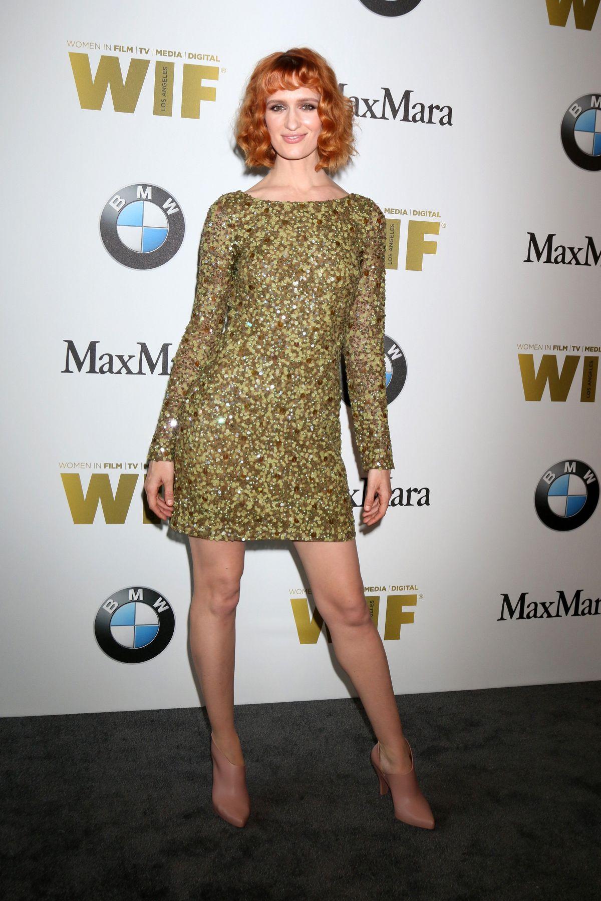 BREEDA WOOL at Women in Film 2016 Crystal + Lucy Awards in Los Angeles 06/