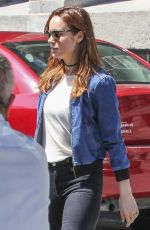 BRIE LARSON Out and About in Montreal 06/26/2016