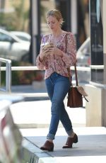 BRITTANY SNOW at Coffee Bean and Tea Leaf in Los Angeles 06/16/2016