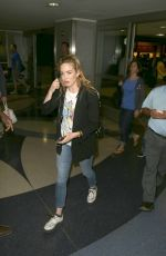 CAITY LOTZ at LAX Airport in Los Angeles 06/05/2016