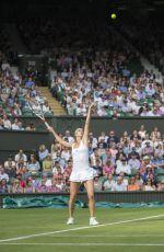 CAMILA GIORGI at 1st Round at Wimbledon Tennis Championships in London 06/27/2016