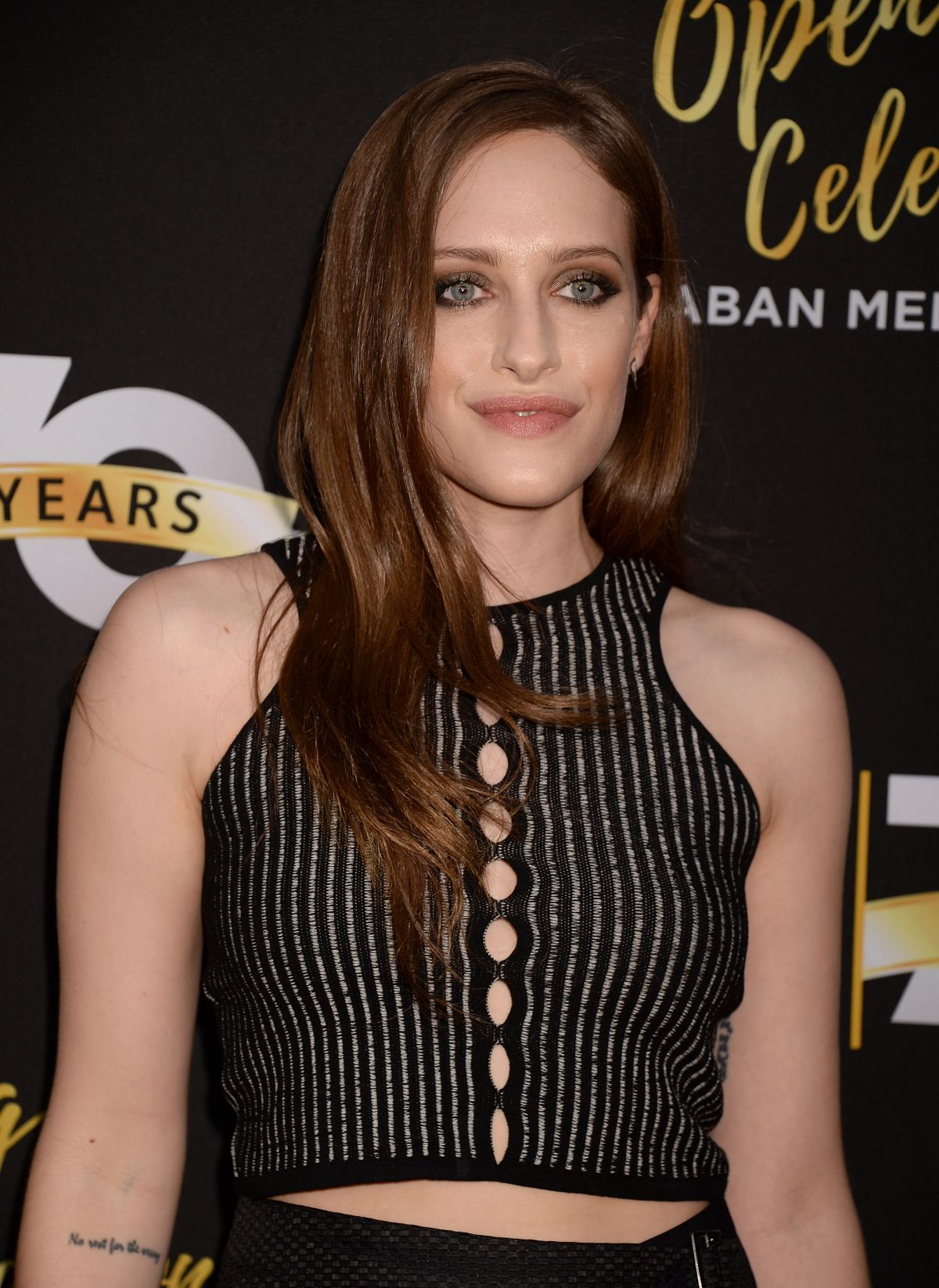 CARLY CHAIKIN at Television Academy 70th Anniversary Celebration in Los Angeles 06/02/2016